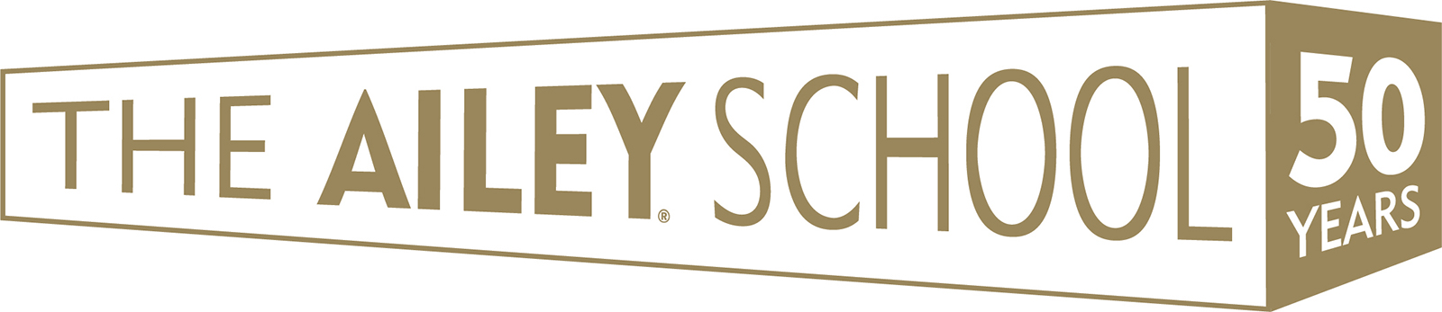 The Ailey School 50th Anniversary logo