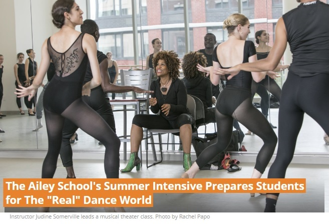 Dance Magazine Summer Intensive article